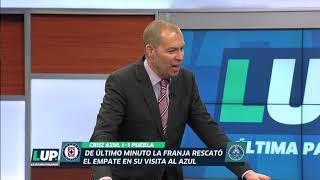 """""""Comodidad es lo que pasa en Cruz Azul"""": Rubén Rodríguez"""