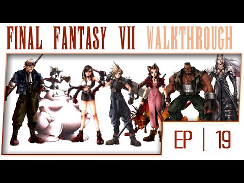 Final Fantasy 7 HD Remaster - Part 19 - Shinra Boat [No Commentary][1080p HD]