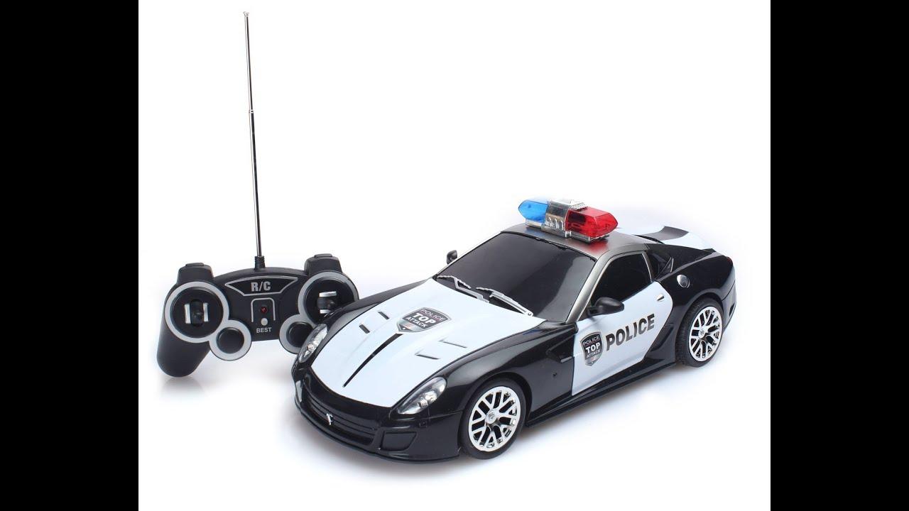 Coches Policia De Control Remoto Juguetes Para Ni 241 Os Youtube