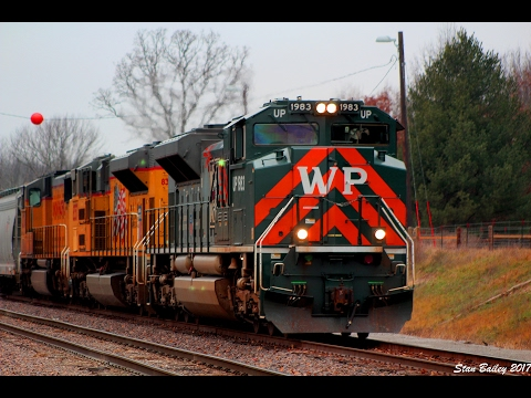 [HD] January 2017 Train Catches in Salem Illinois Feat. UP 1983