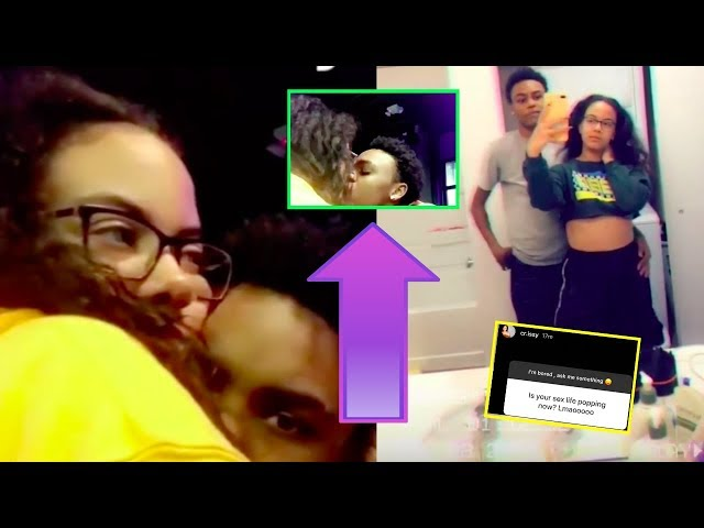 CRISSY DANIELLE KISSES NEW GF ON CAMERA, SHADES FANS AND SAYS HER NEW S.3.X LIFE IS AMAZING