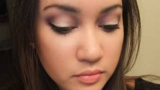 Drugstore Purple Smokey Eye using Wet N Wild Lust Palette