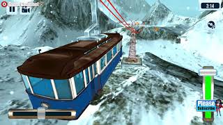 Sky Tram Simulator / Tramway Simulation Games / Android Gameplay Video