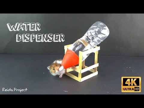How to make a water bottle holder for hamster