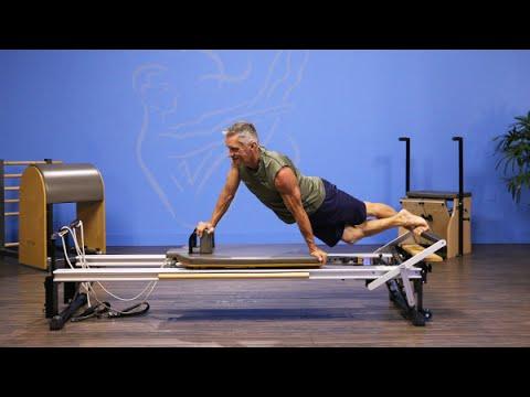 Advanced Twist On Pilates Reformer Youtube