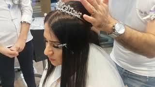 Gelin Saçı Topuzu Tasarımı Nasıl Yapılır Ayrıntılı Topuz Tasarımı Yapımı