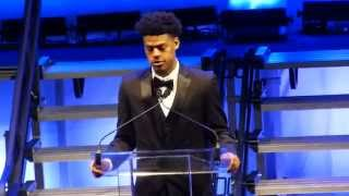2015 Duke Basketball Banquet - Quinn Cook Senior Speech - 4/23/15