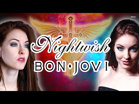 Nightwish/Bon Jovi Mashup - (Cover by Minniva featuring Quentin Cornet)