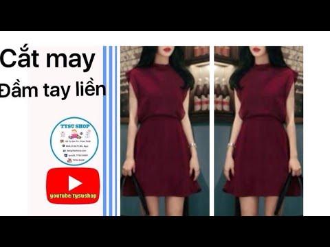 Dạy Cắt May Đầm Tay Liền _794_tysushop