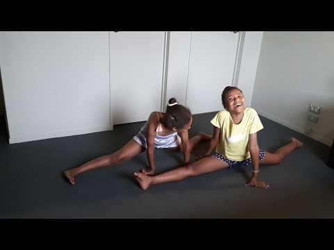 ABC gymnastics challenge with a twist!