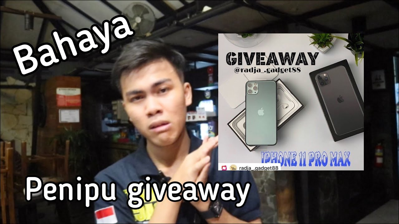 Penipuan Giveaway Iphone 11 Youtube
