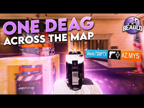 INSANE One Tap Across The Map - Rainbow Six Siege |