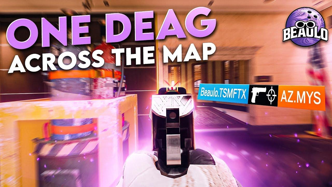 INSANE One Tap Across The Map - Rainbow Six Siege