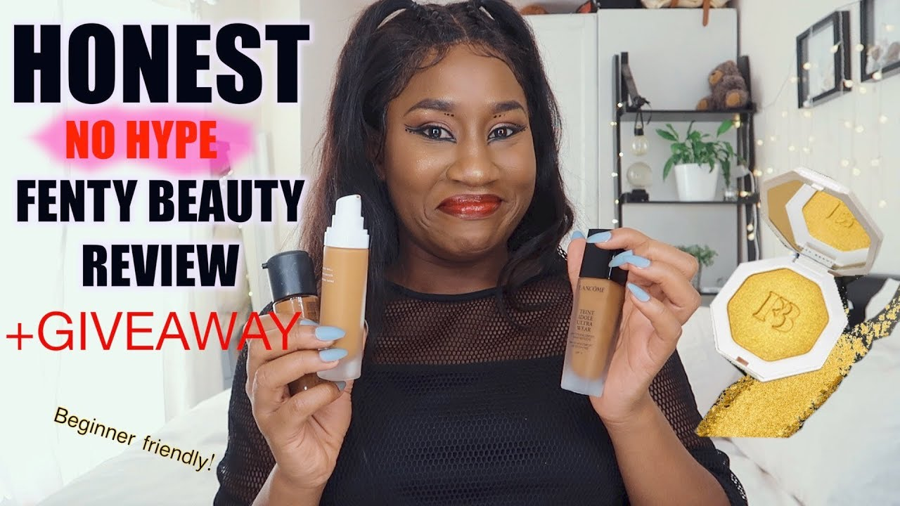 FENTY BEAUTY vs MAC vs LANCÔME!😱 FULL FACE OF FENTY REVIEW, NO HYPE! NO  BS! DOES IT COMPARE?!
