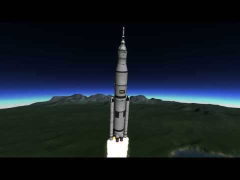 Kerbal Space Program - SLS launch