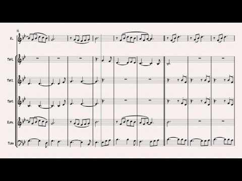 Hallelujah (L.Cohen) - Sheet Music (arr. C.Tegtmeyer)