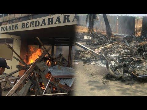 Mapolsek Bendahara di Aceh Tamiang Dibakar Massa, Warga Ngamuk Dengar Isu Napi Tewas usai Ditangkap