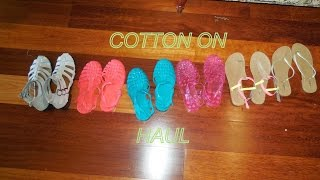 ♡ Huge Cotton On and Rubi Shoes Haul ♡