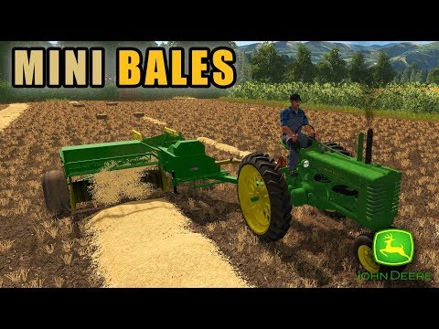 BALING BEFORE WINTER HITS | Farming Simulator 2017 thumbnail