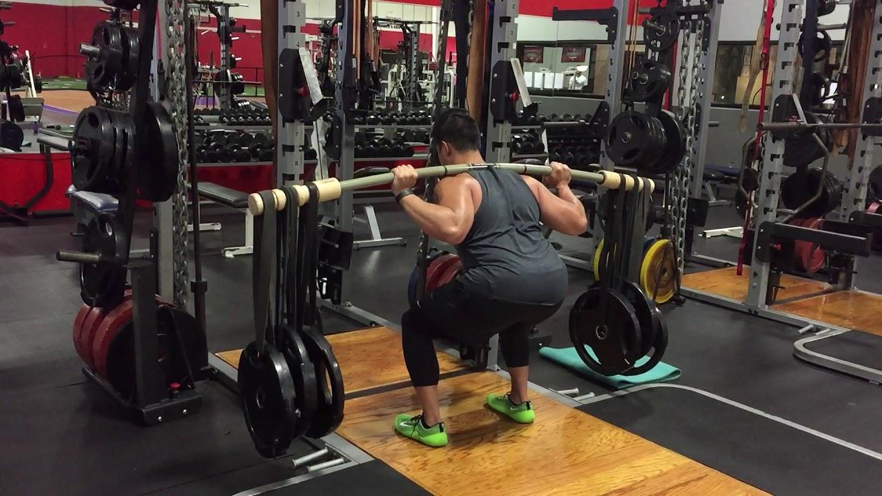 squats cu varico bar)