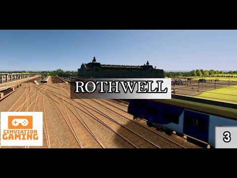 Cities Skylines UK Build - Rothwell - Episode 3 (Rothwell Central Train Station)  