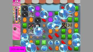 Candy Crush Saga Level 1044 NEW 6 colour bombs no boosters