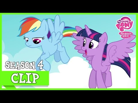 Rainbow's Way Of Studying: Fly And Scan (Testing Testing 1, 2, 3)   MLP: FiM [HD]