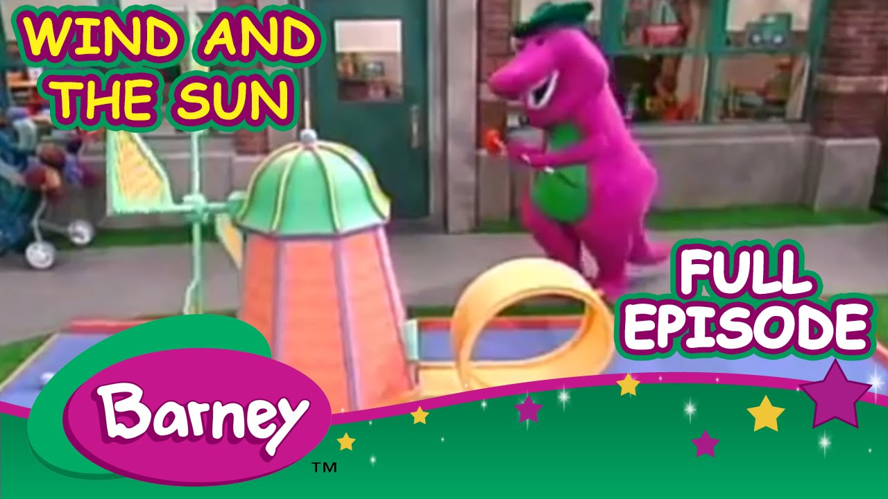 Barney Full Episode Wind And The Sun Youtube