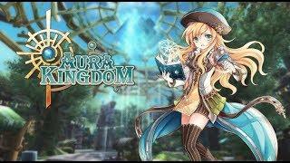 AURA KINGDOM - GAMEPLAY [ MINHA PRIMEIRA VEZ NESSE MMORPG GRÁTIS ]