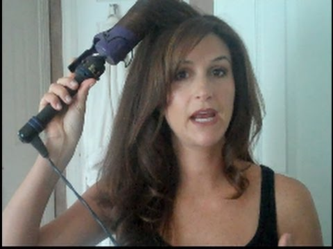 How To Curl Hair Big Loose Curls YouTube