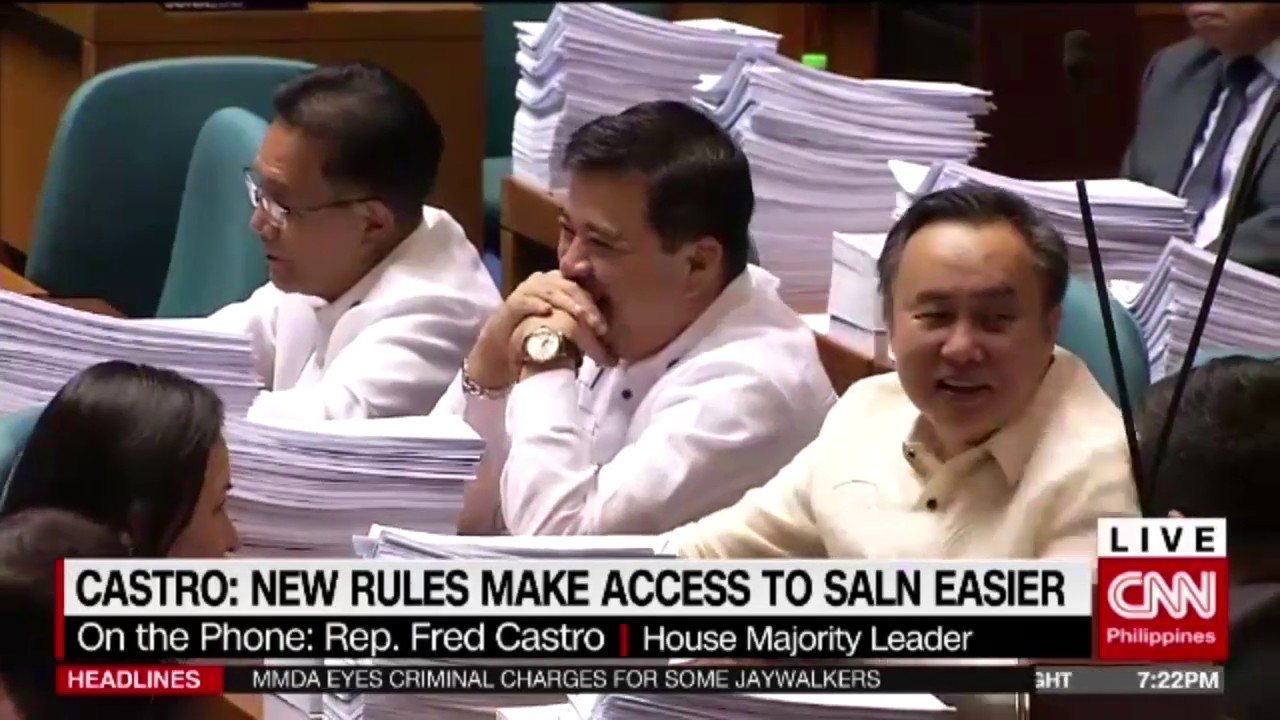 House imposes stricter rules on SALN access