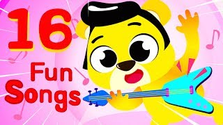 A Toy Story Party with the Teddy Bear Rock - Car Patrol Puppy and more Baby Songs by Little Angel