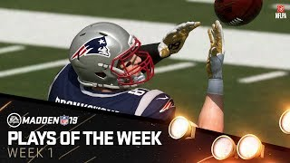 Madden 19 - Plays of the Week 1