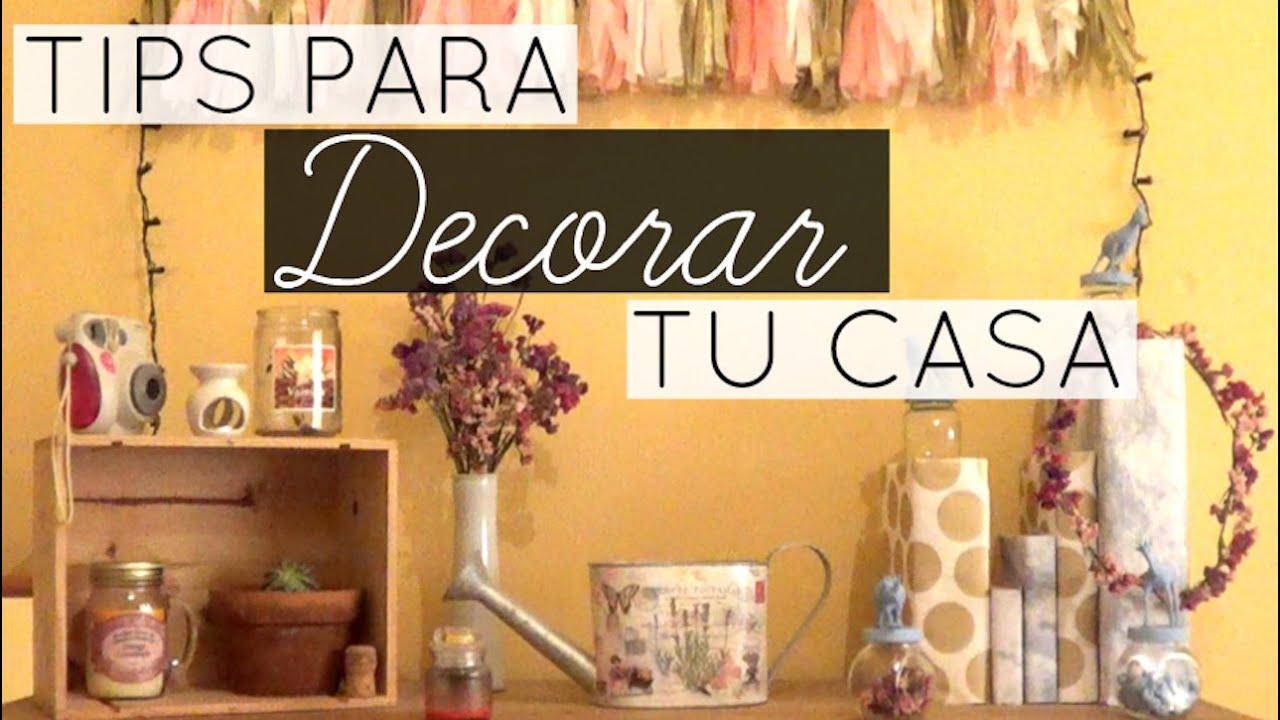 tips para decorar tu casa inspiracin tumblr