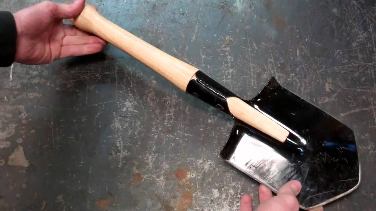 Cold Steel Special Forces Shovel Review Youtube