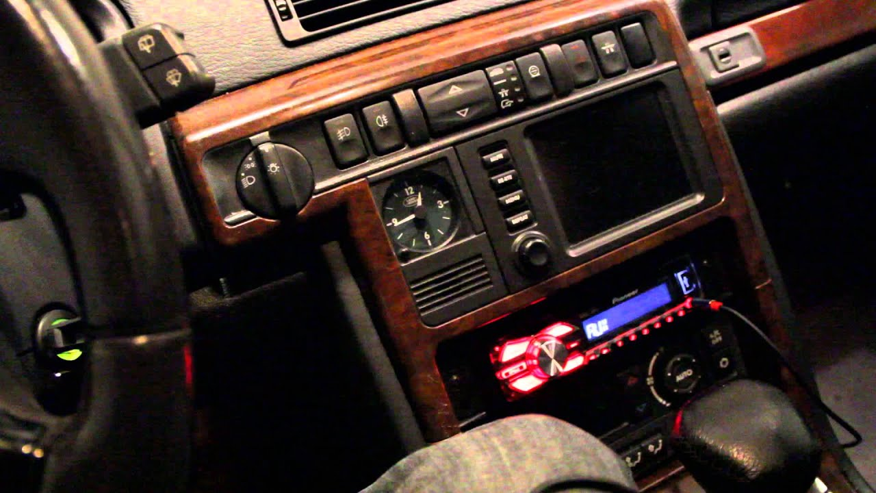 2001 Range Rover P38A Aftermarket Sound System YouTube