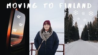 MOVING TO OULU FINLAND / studying abroad