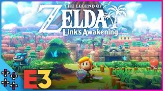 E3 2019 Hands-On - THE LEGEND OF ZELDA: LINK's AWAKENING for Switch!