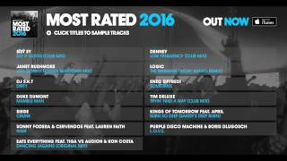 Defected presents: Most Rated 2016 Album Sampler