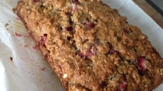 How To Make Strawberry Oats Bread