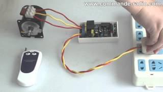 Kit Télécommande de Moteur CA 220V Mode Momentané