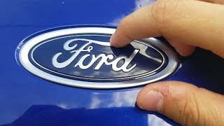 Something Hidden In The FORD Logo