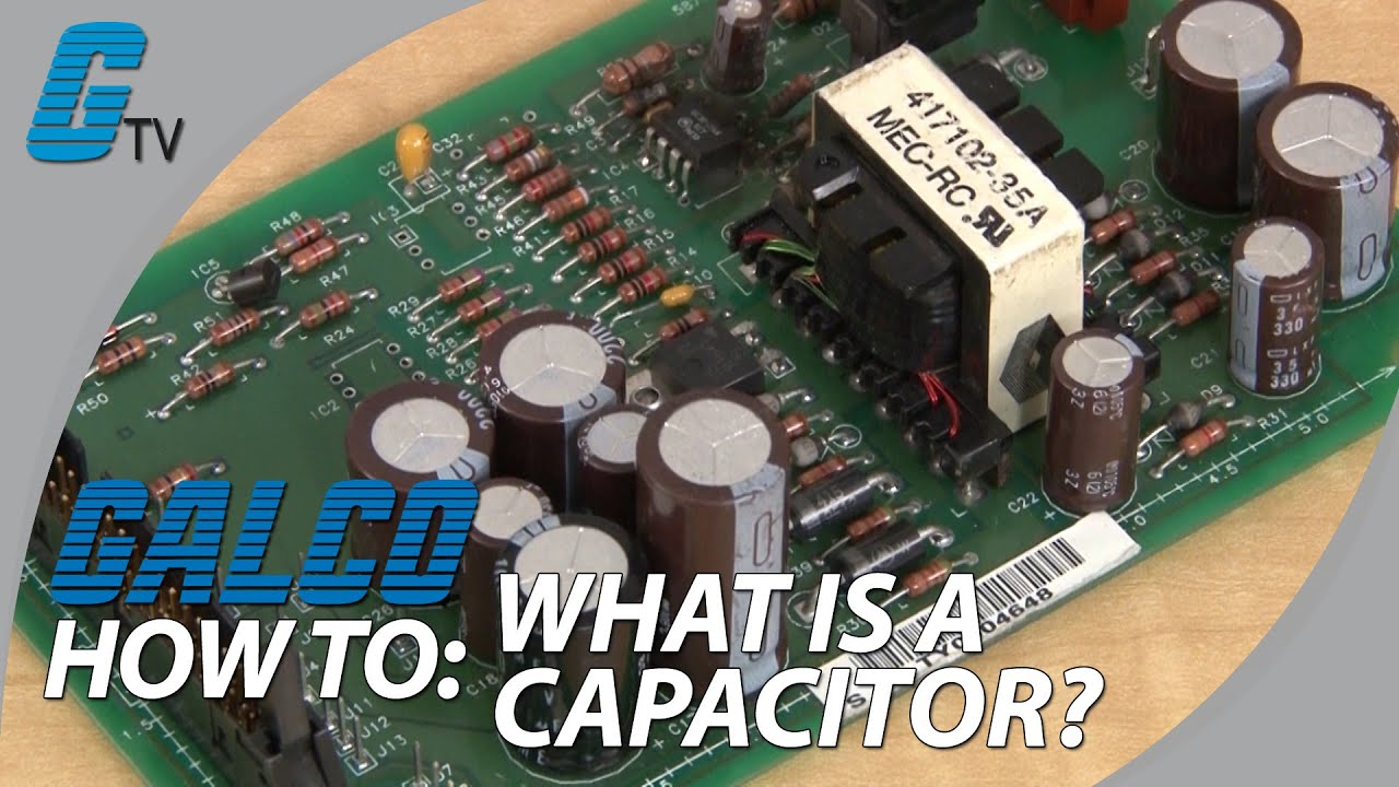 What is a Capacitor? - YouTube