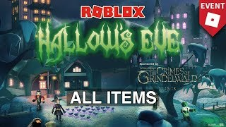 [EVENT🎃] HOW TO GET EVERY SINGLE ITEM IN HALLOW'S EVE | Roblox