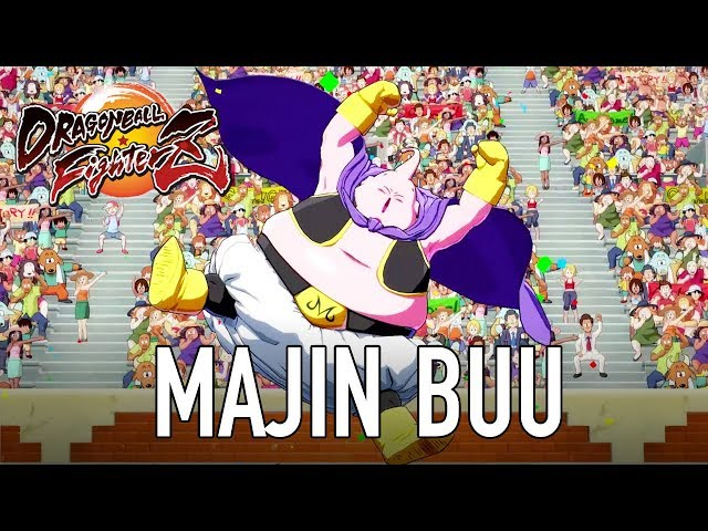Dragon Ball FighterZ - PS4/XB1/PC - Majin Buu (Character Intro Trailer)