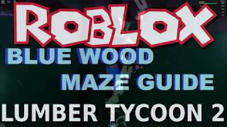 Lumber Tycoon 2 Maze Guide : October 17th-20th | RoBlox