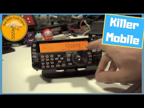 Kenwood TS 480SAT Review, Mobile Radio King?