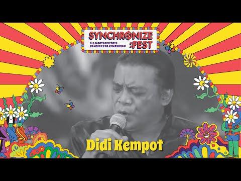 Didi Kempot LIVE @ Synchronize Fest 2019