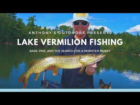 Lake Vermilion Fishing Trip 2018
