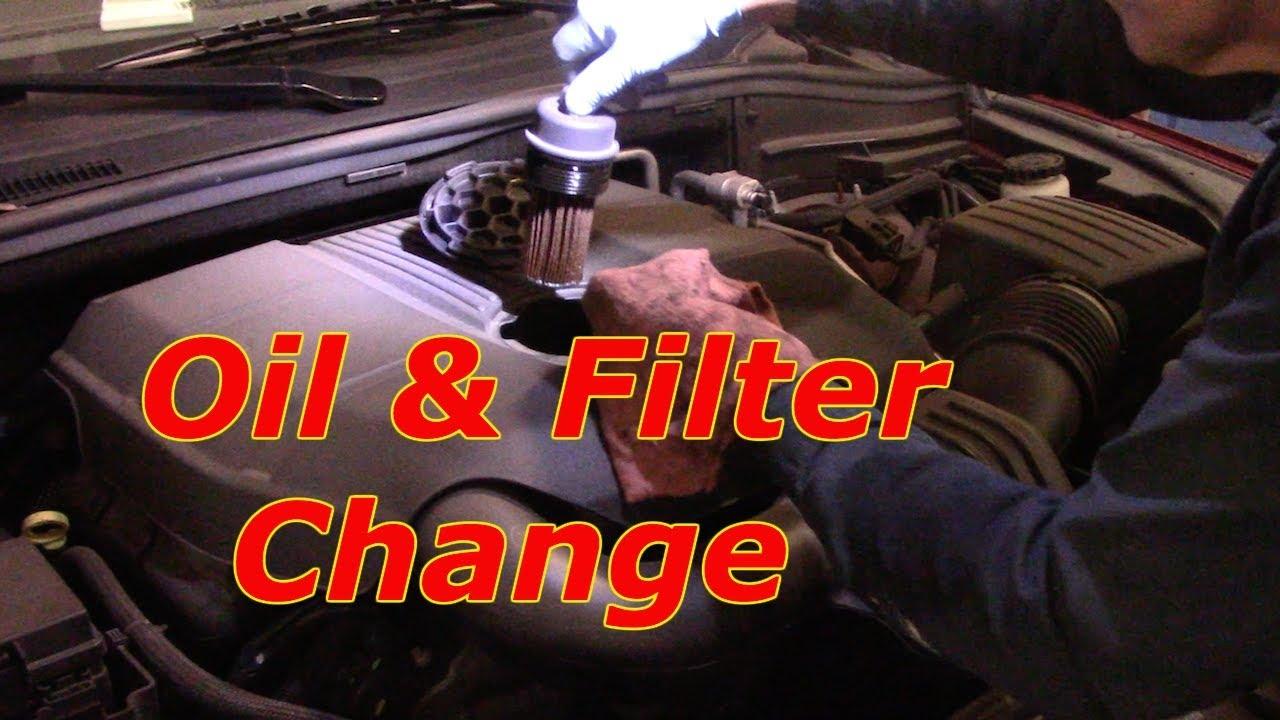 How To Change The Oil  U0026 Filter 2016 Dodge Durango